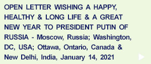 Open Letter to the President of Russia